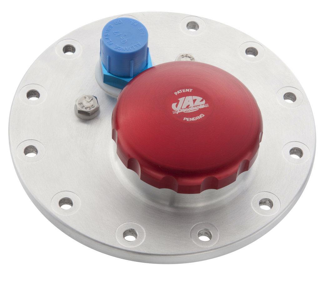 Jaz 2-1/2 12-Bolt Fuel Plate w/Billet Twist Cap
