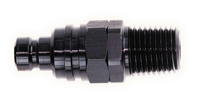 Jiffy-tite Q/R Male 1/8in NPT Plug Black