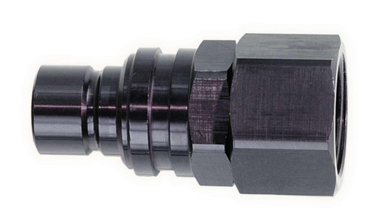 Jiffy-tite Q/R #8 Female Plug Black