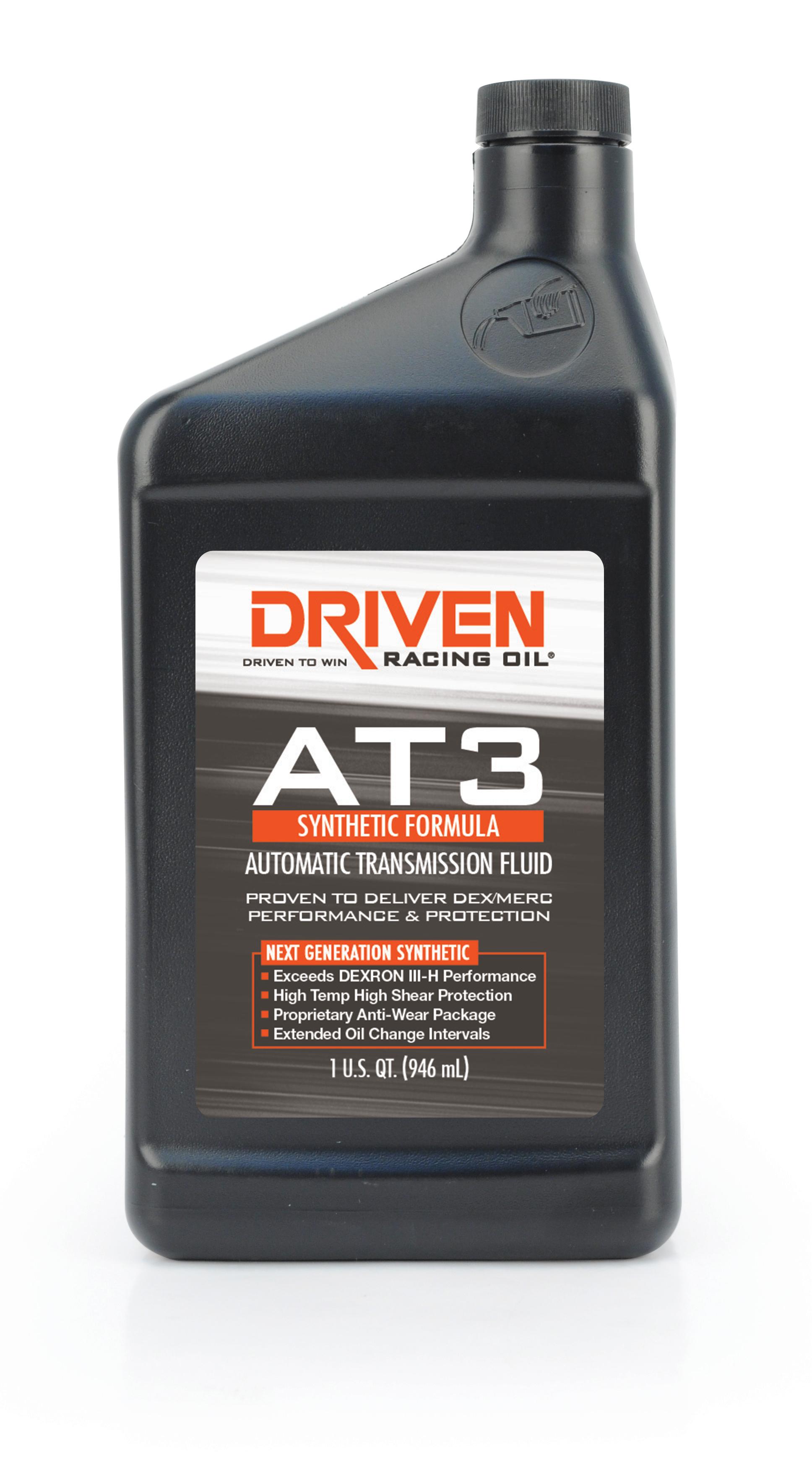 Driven Racing Oil AT3 Synthetic Dex/Merc Transmission Fluid 1 Qt.