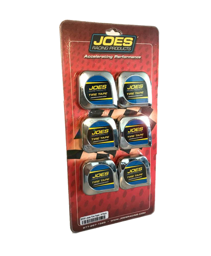 Joes Racing Products Tire Tape Measure 6pk 1/4in Wide