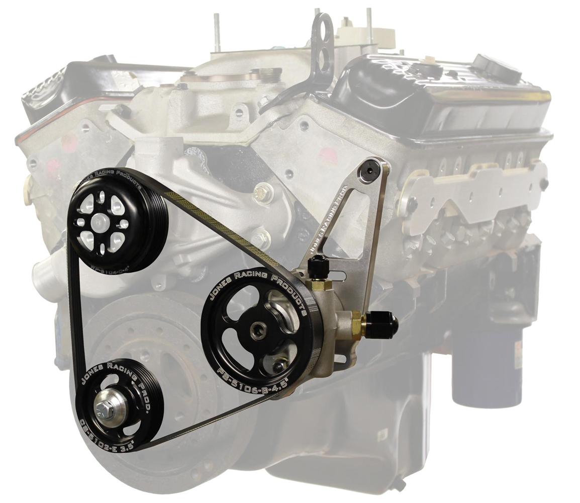 Jones Racing Products Serpentine Drive Kit SBS w/ P/S & W/P