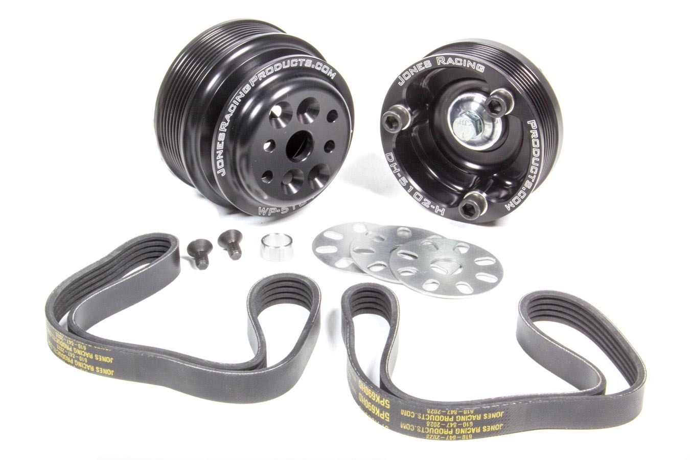 Jones Racing Products W/P Drive SBC Crate Engine