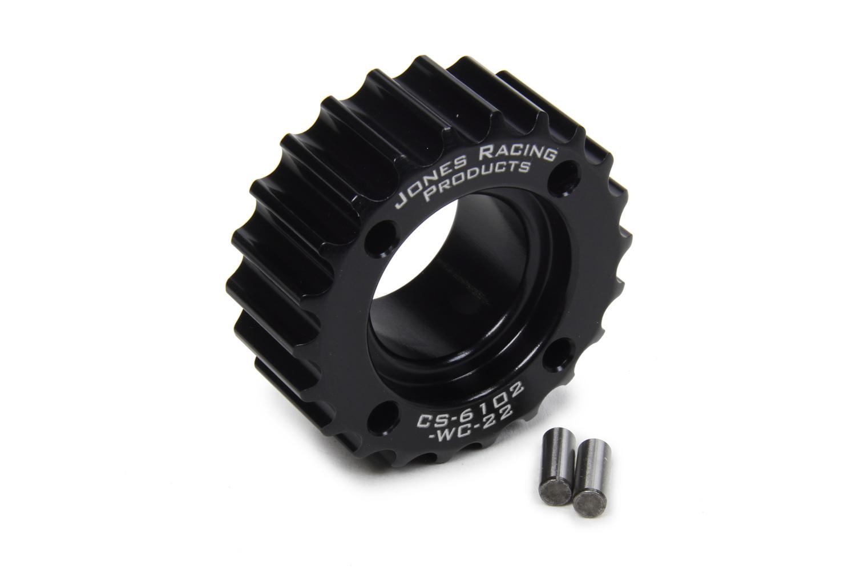Jones Racing Products HTD Crankshaft Pulley 22 Tooth 3/16in Dual Dowel