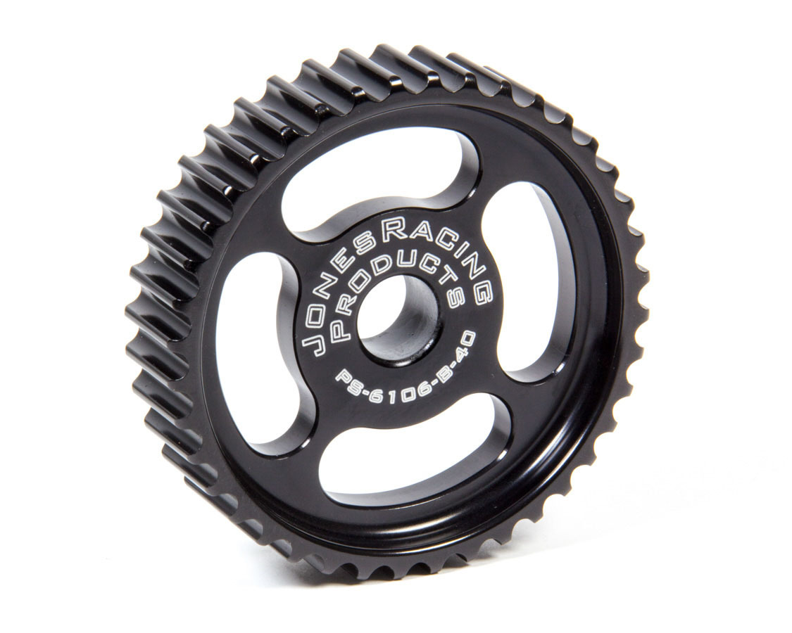 Jones Racing Products P/S Pulley HTD 40 Tooth 1in Wide Press Fit