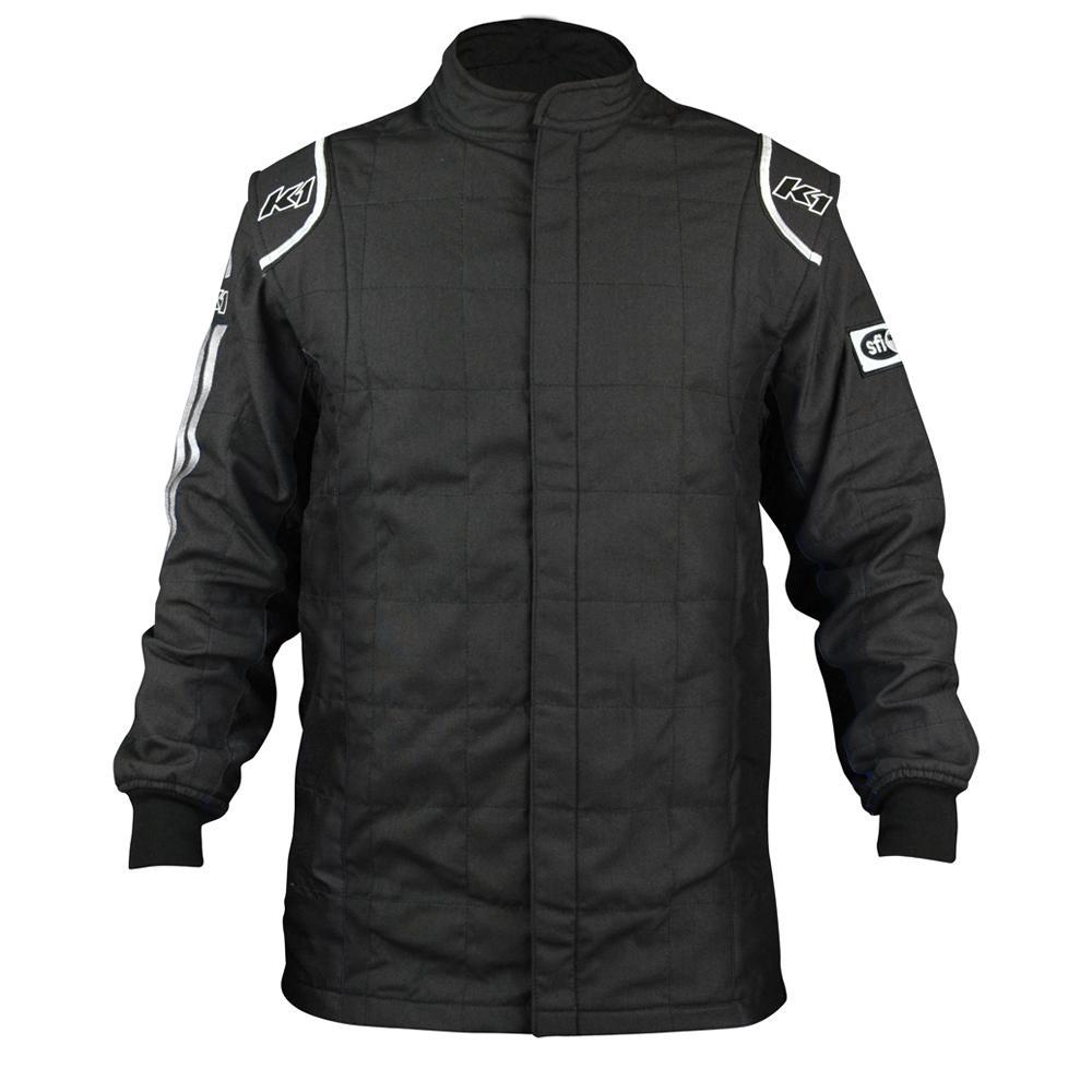 K1 Racegear Jacket Sportsman Black / White Medium
