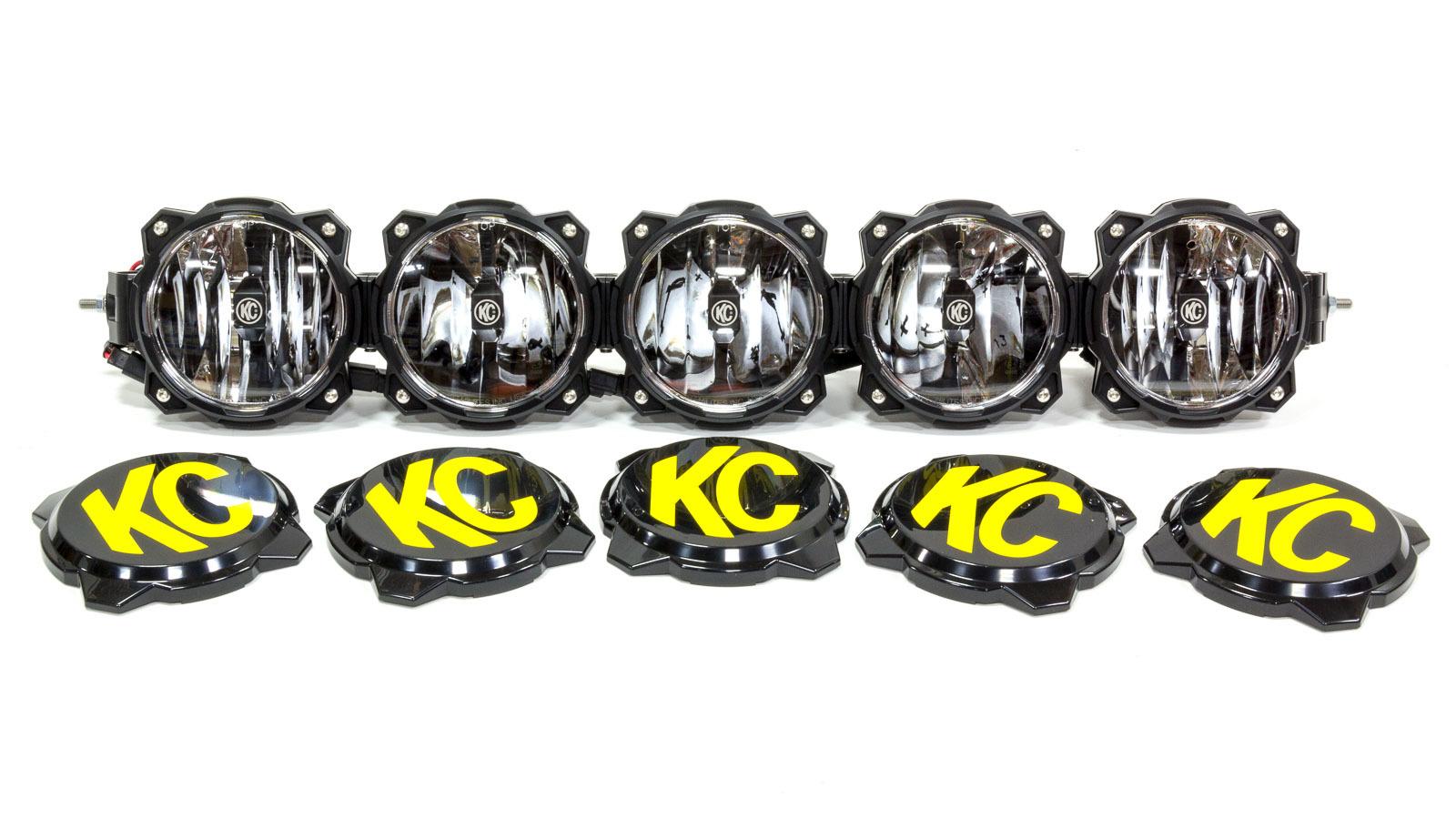Kc Hilites Pro6 Gravity LED Light Bar 5 Light 32in