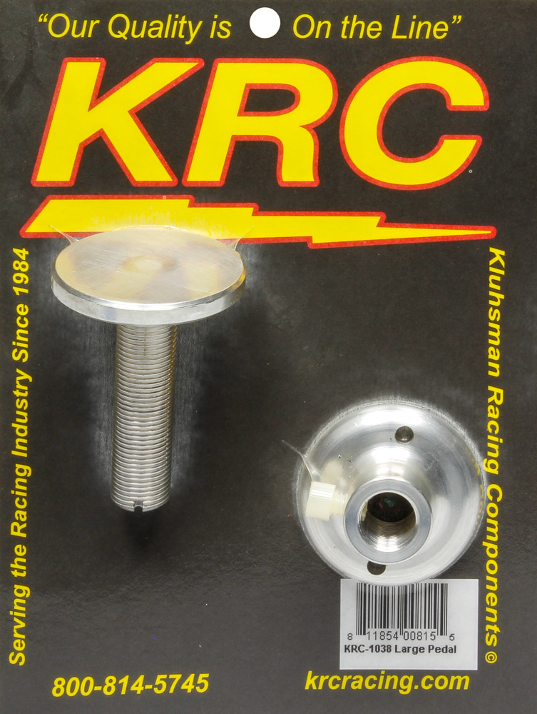 Kluhsman Racing Products Large Gas Pedal Stop