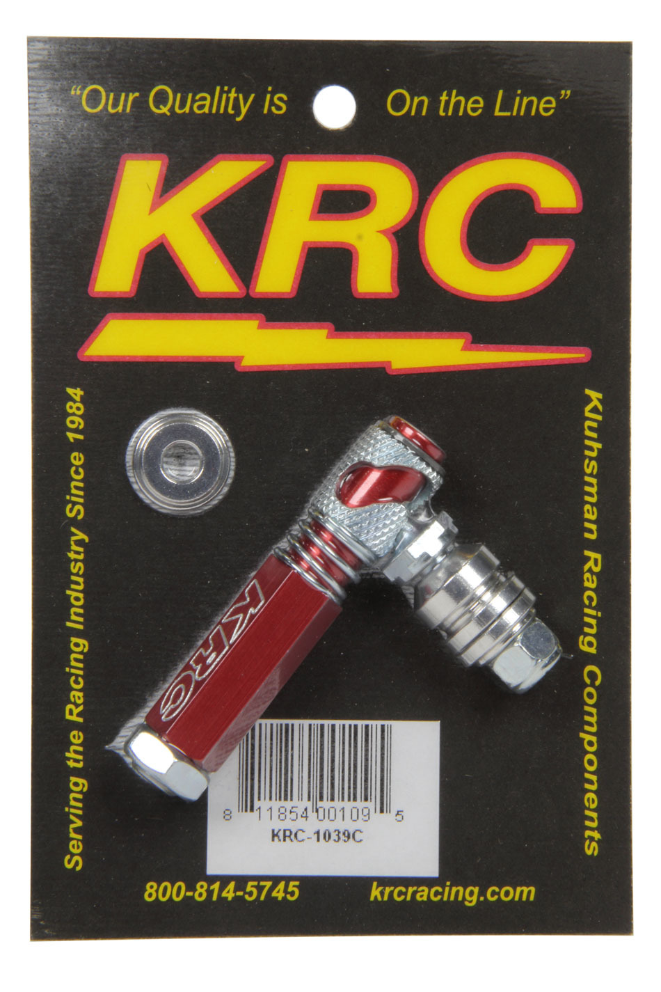Kluhsman Racing Products Quick Disconnect Morse Cable Adapter