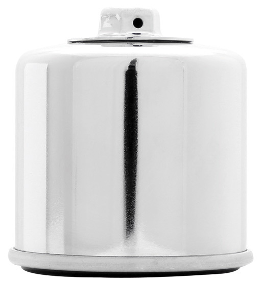 K And N Engineering Oil Filter Powersports Canister Chrome