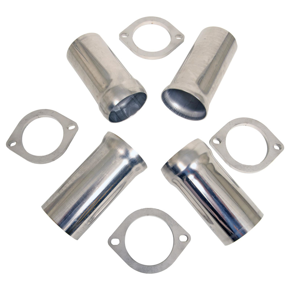 Kooks Headers 3in Stainless Steel Ball and Socket Connection