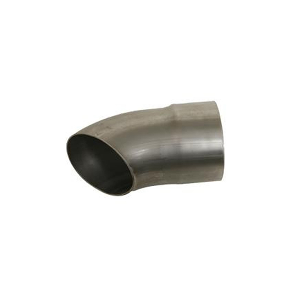 Kooks Headers 3in Mild Steel Turnout - 6in Long