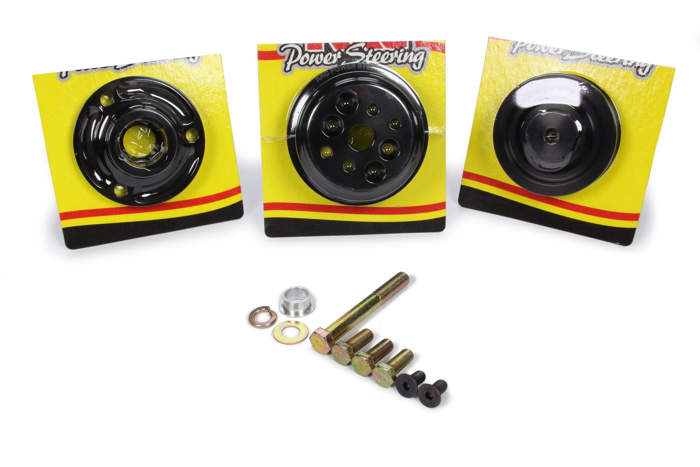Krc Power Steering Pro Series Serpentine Pulley Kit 15%