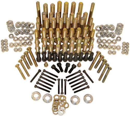 King Racing Products Steel Bolt Kit for Sprint Car