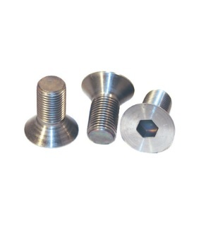 King Racing Products Brake Rotor Bolts For Left Front Titanium 3pk
