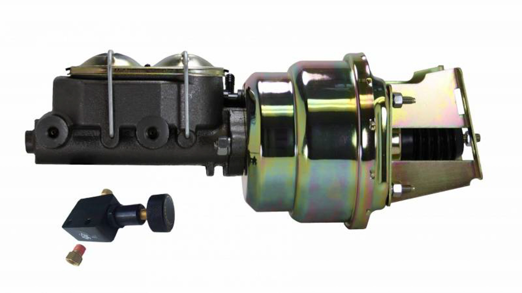 Leed Brakes 7 in Dual Power Booster 1-1/8 in Bore Master