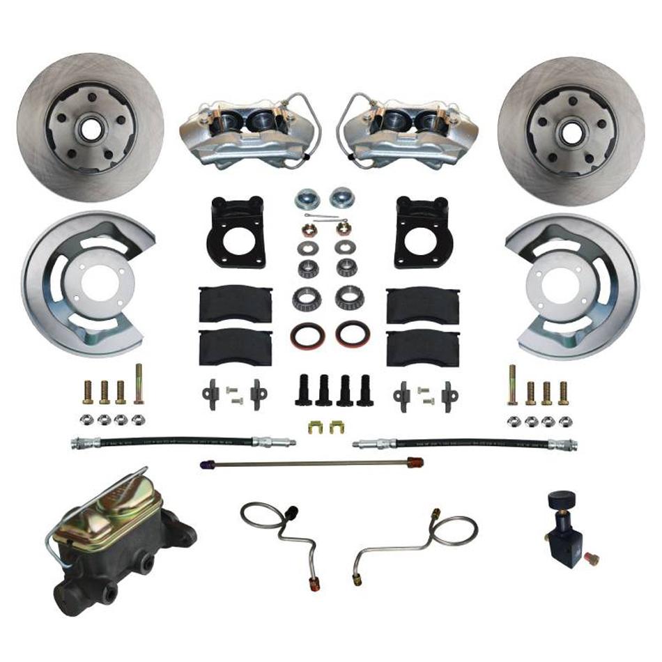 Leed Brakes Manual Brake Conversion 67-69 Mustang