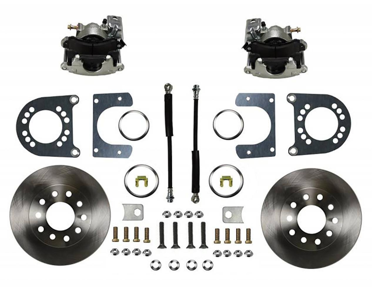Leed Brakes GM 55-68 Rear Disc Brak e Kit Zinc Calipers