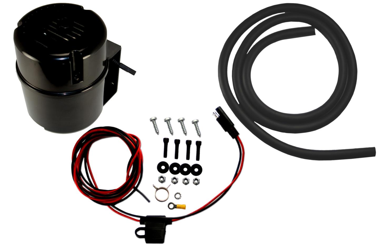 Leed Brakes Electric Vacuum Canister Black Bandit