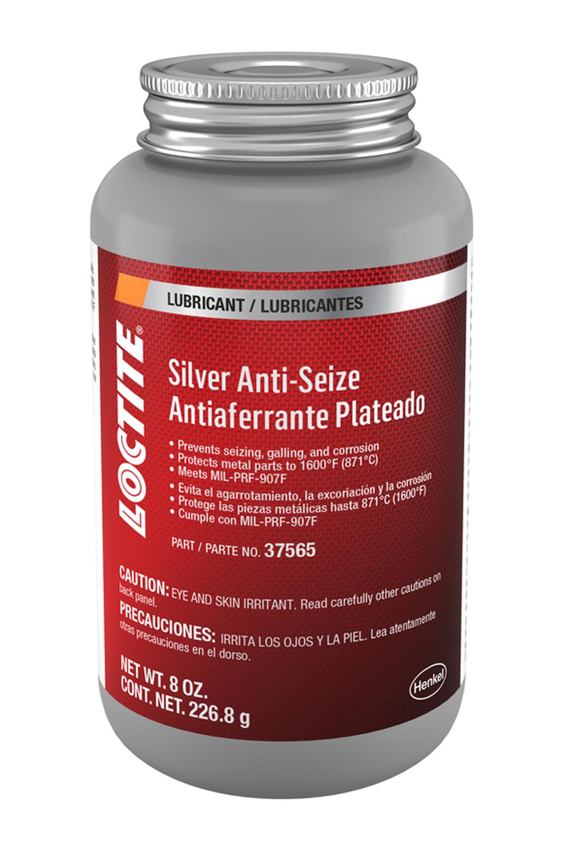 Loctite Silver Anti Seize Stick Brush Top Can 8oz