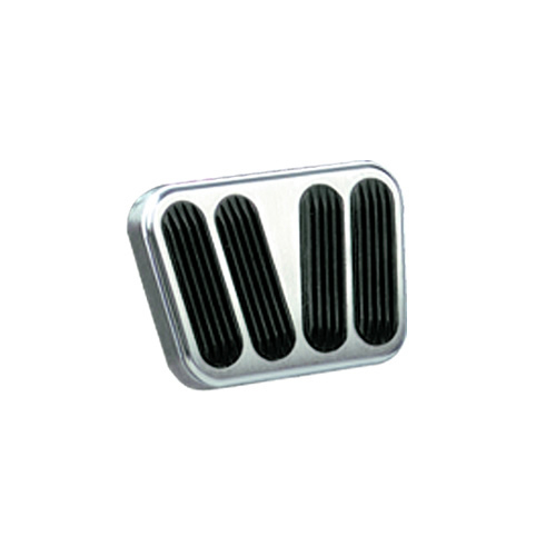 Lokar 55-57 Chevy Billet Brake Clutch Pad w/ Rubber