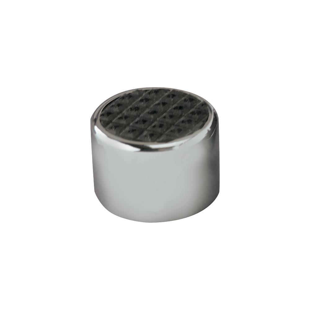 Lokar Chrome Steel Dimmer Cover w/Rubber Insert