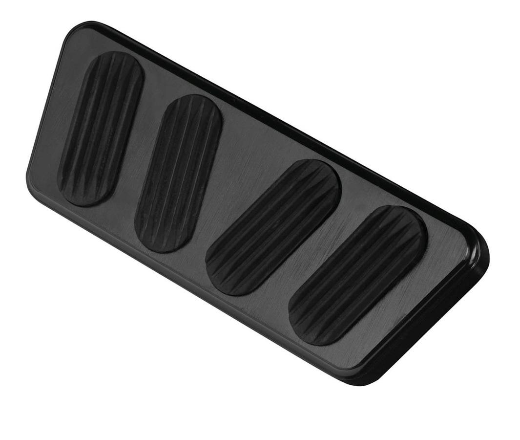 Lokar 64-68 Mustang Black Brake Pedal Pad A/T