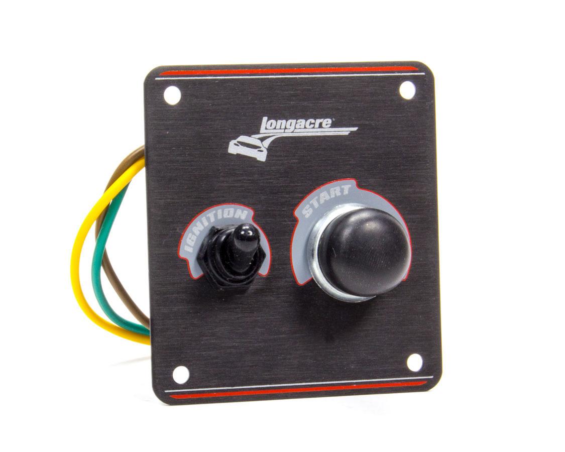Longacre Ignition Panel Black