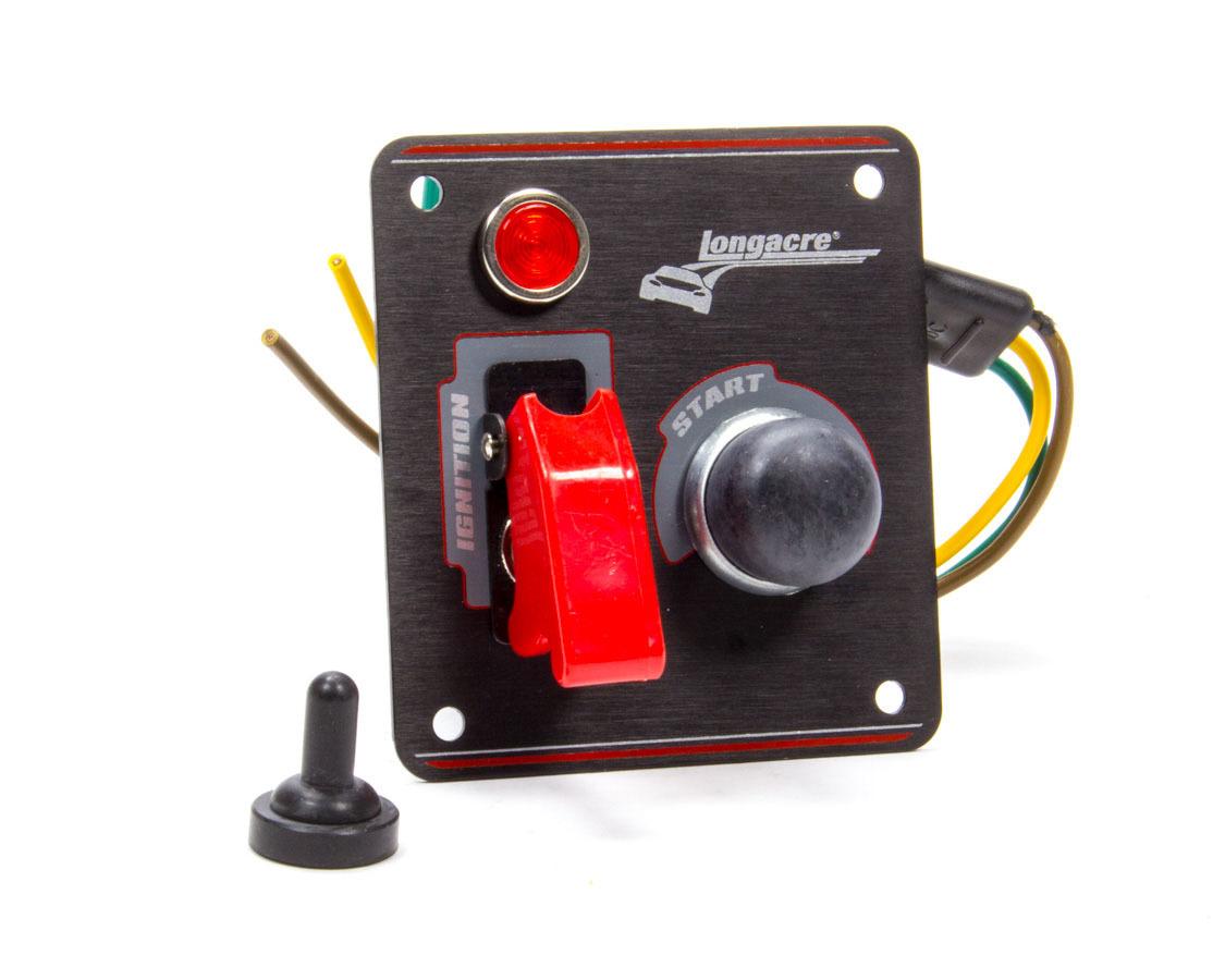 Longacre Ignition Panel Black w/Pilot Light