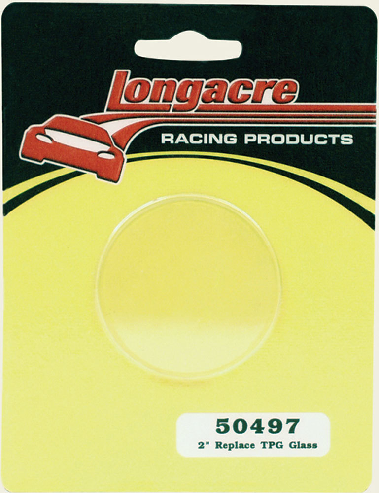 Longacre Replacement Glass for 2in. Tire Gauge