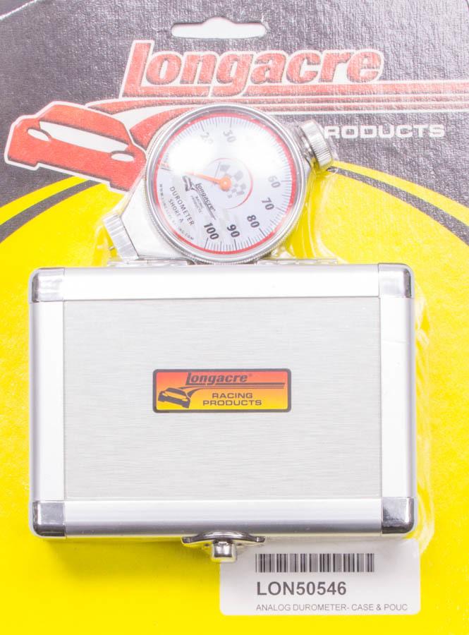 Longacre Durometer w/Silver Case