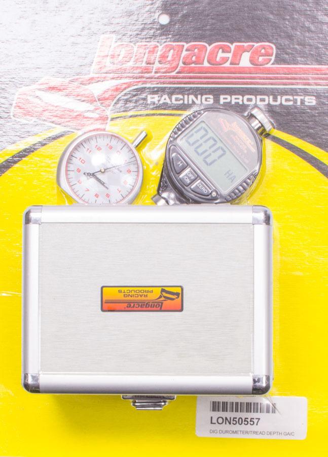 Longacre Digital Durometer/Tread Depth Gauge w/Case