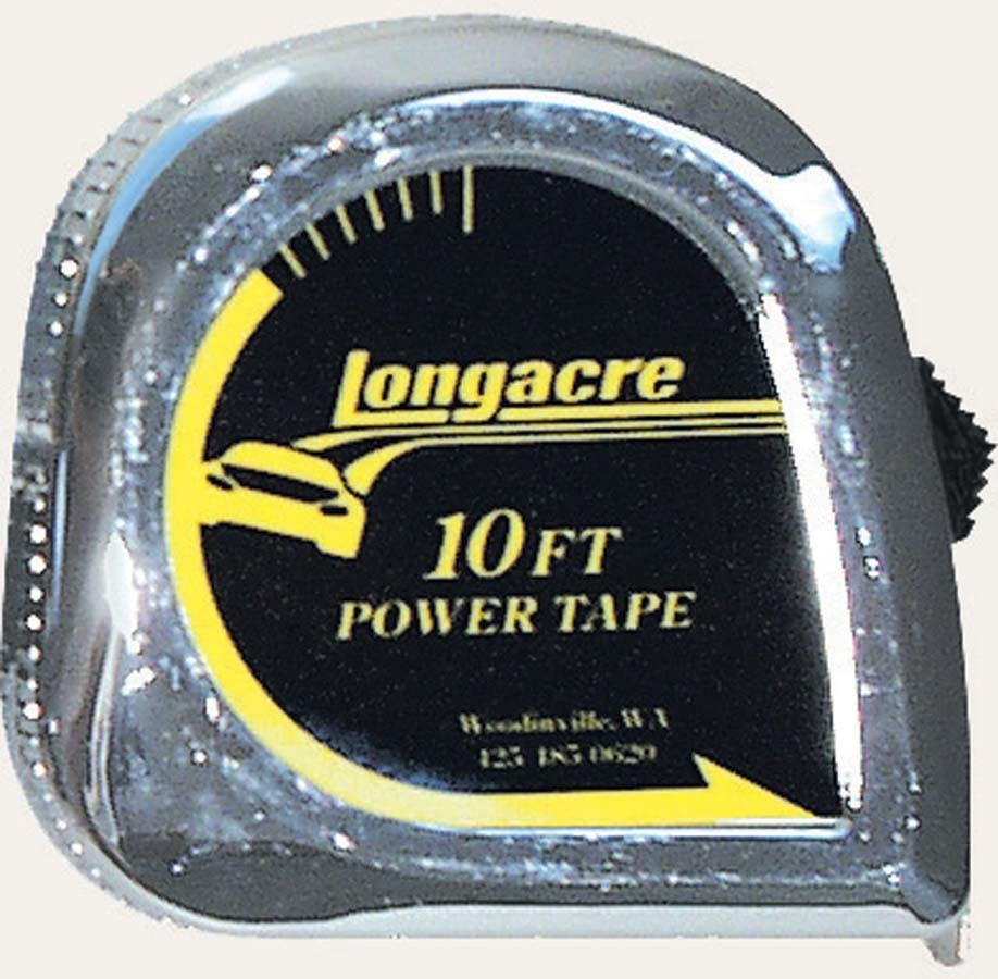 Longacre Tire Tape 10' X 1/4in