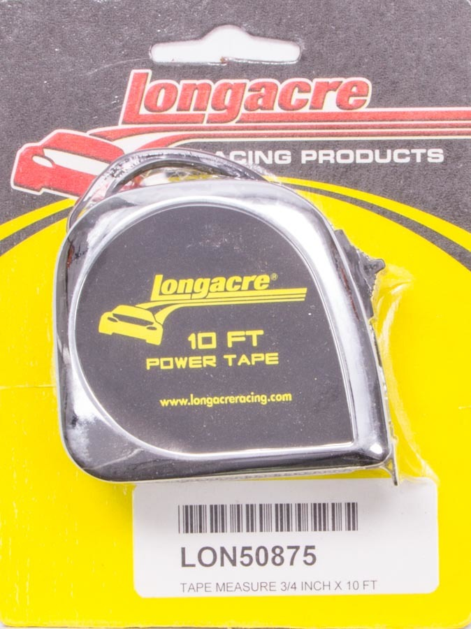 Longacre Tape Measure 10' x 3/4in