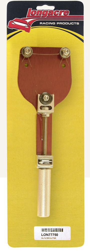 Longacre Oil Filter Cutter
