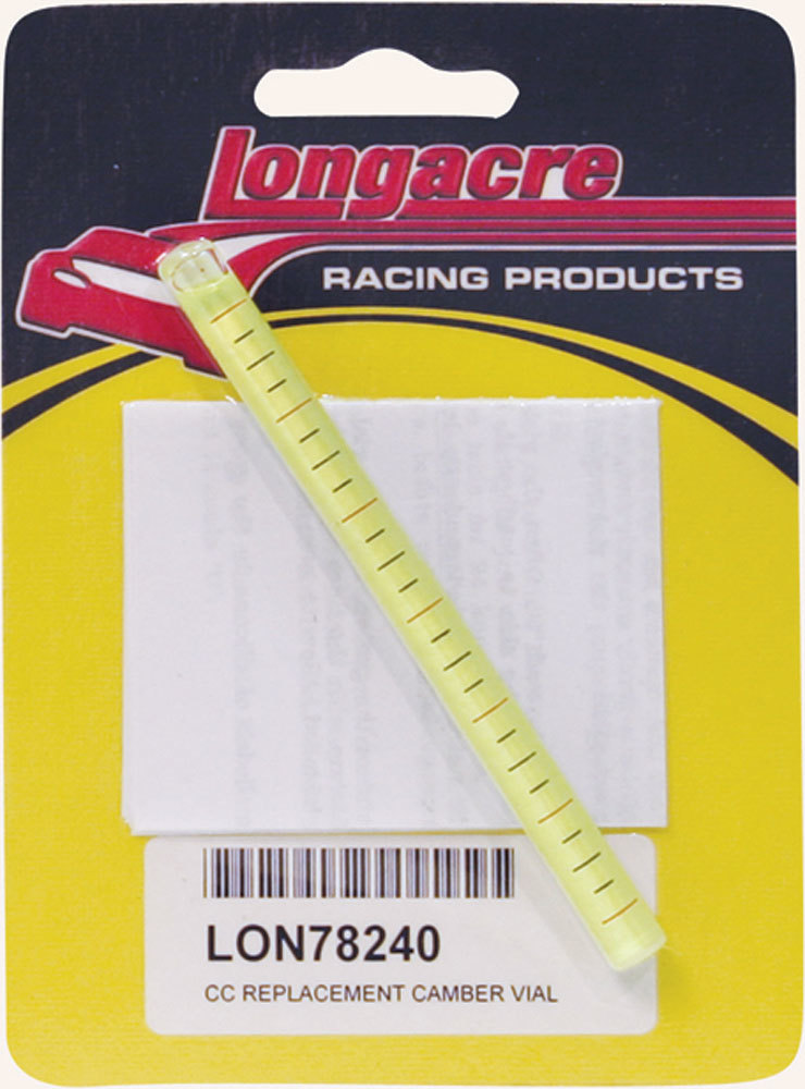 Longacre Replacement Camber Vial