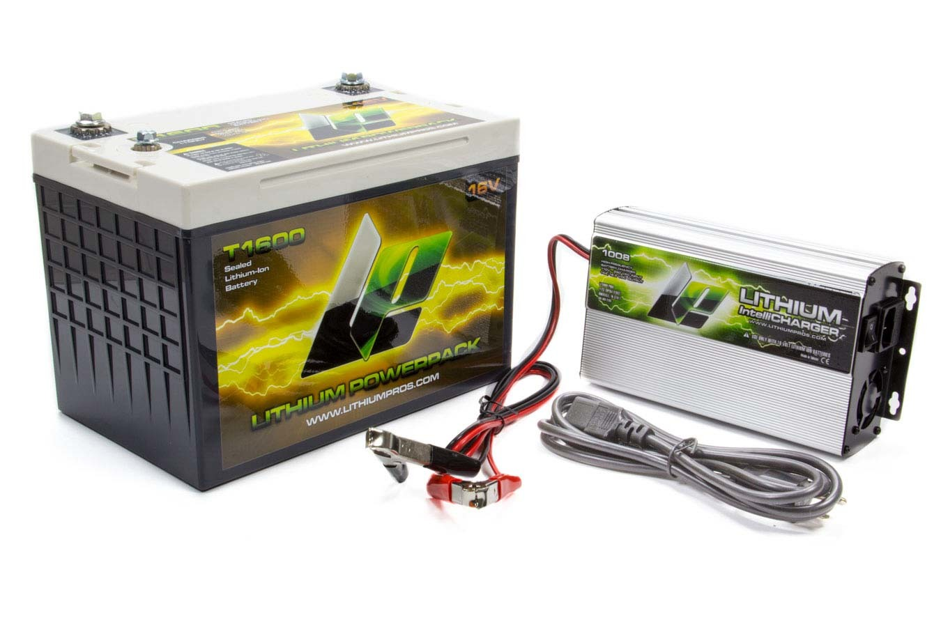 Lithium Pros Lithium-Ion Power Pack and Charger Kit