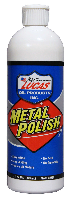 Lucas Oil Metal Polish 12x16oz