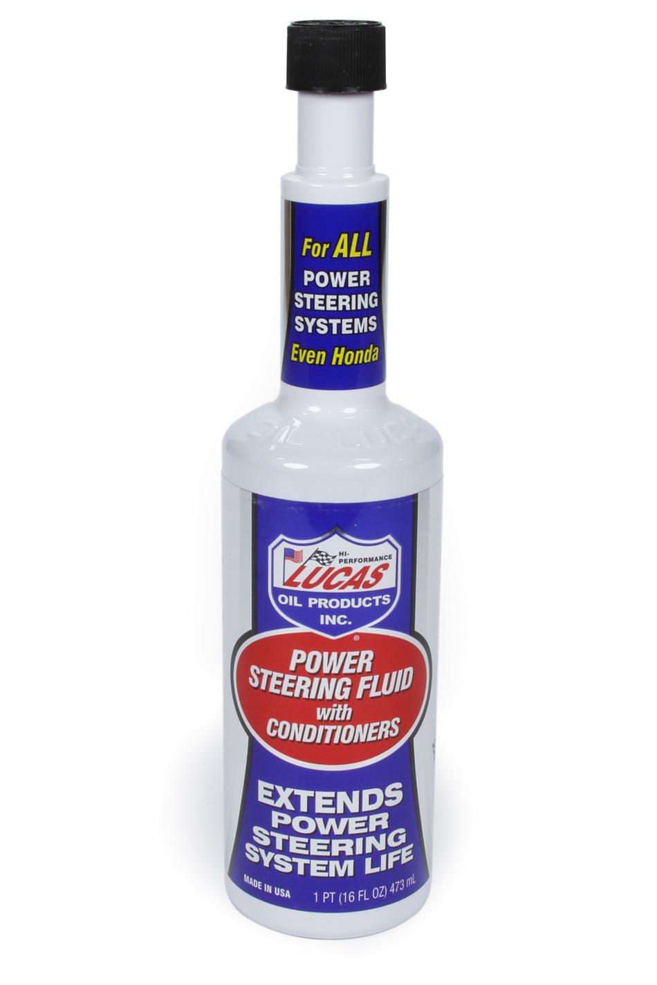 Lucas Oil Power Steering Fluid 16oz.