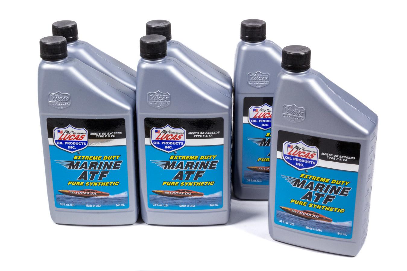Lucas Oil Marine ATF Case 6 x 1 Qt