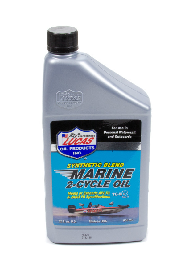 Lucas Oil Marine Oil 2 Cycle 1 Qt. Synthetic Blend