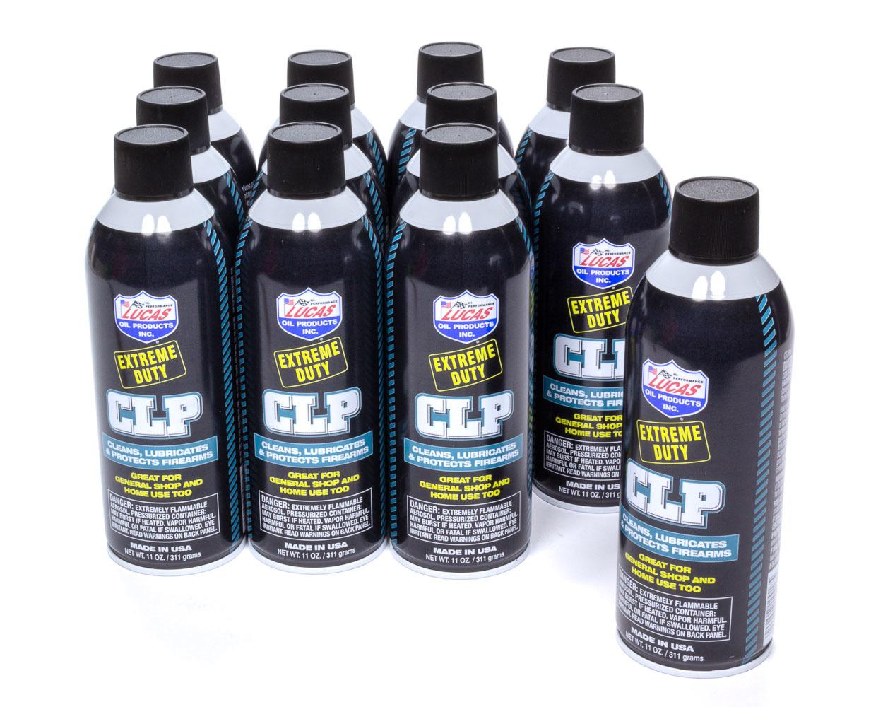 Lucas Oil Extreme Duty CLP Aerosol Case 12 x 11 Ounce