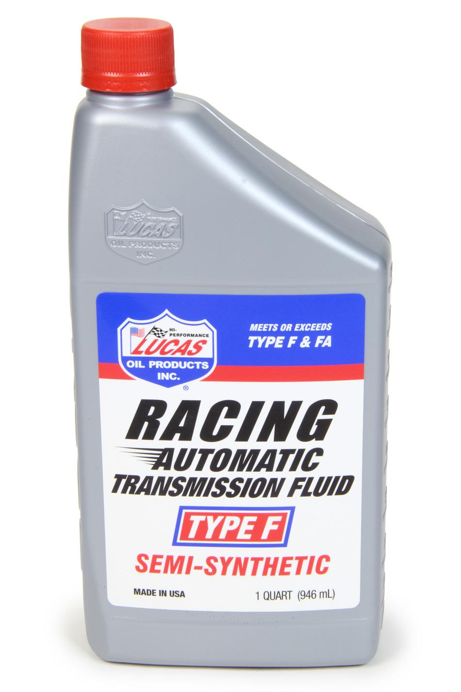 Lucas Oil Type F Racing Transmissi on Fluid 1 Quart