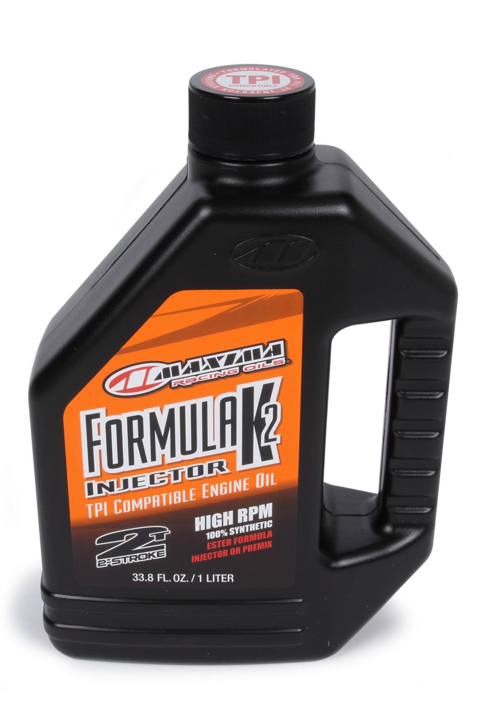 Maxima Racing Oils Formula K2 Injector 2-St roke Oil 1 Liter