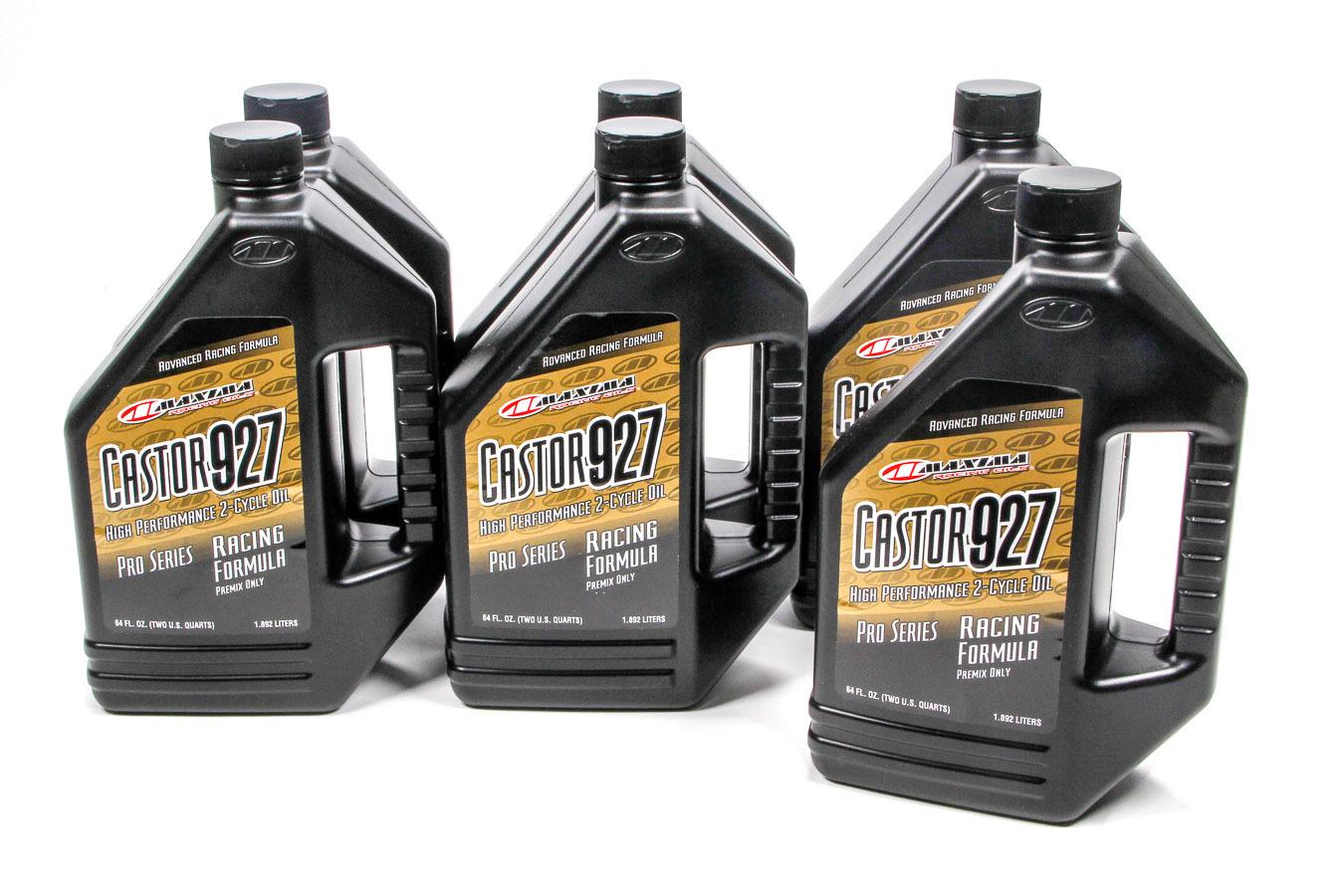 Maxima Racing Oils Castor 927 Racing Premix Case 6 x 1/2 Gallon