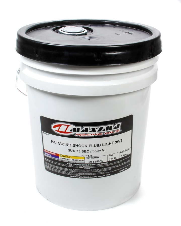 Maxima Racing Oils 3w Racing Shock Oil 5 Gallon Pail