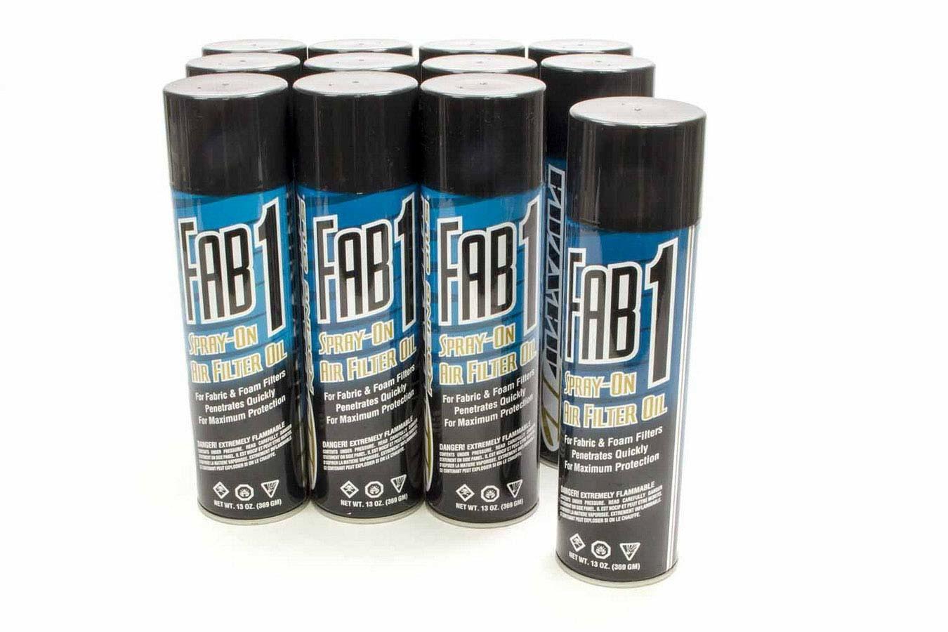 Maxima Racing Oils FAB1 Air Filter Oil Case 12x13oz
