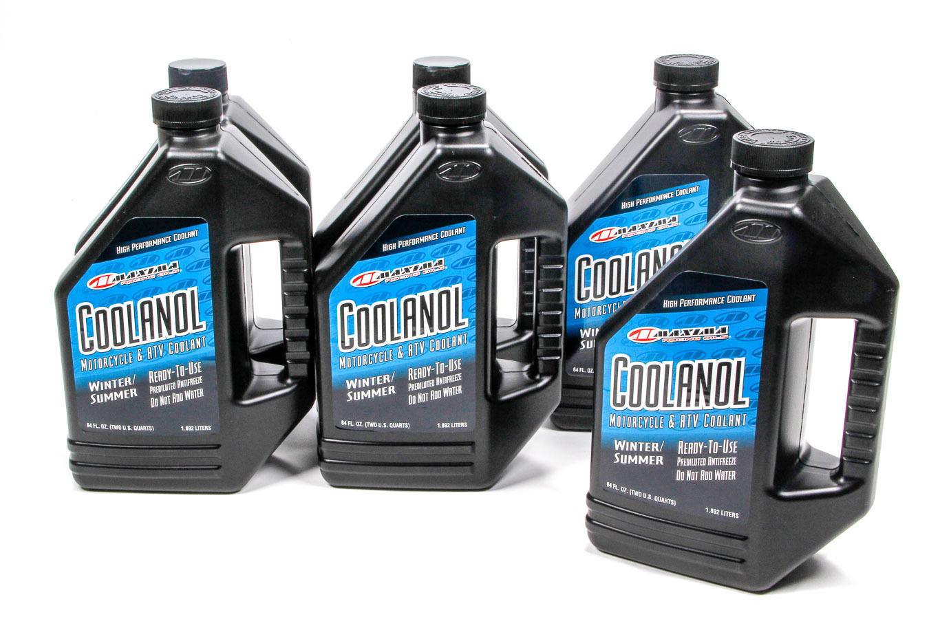 Maxima Racing Oils Coolanol Coolant Case 6x1/2 Gallon