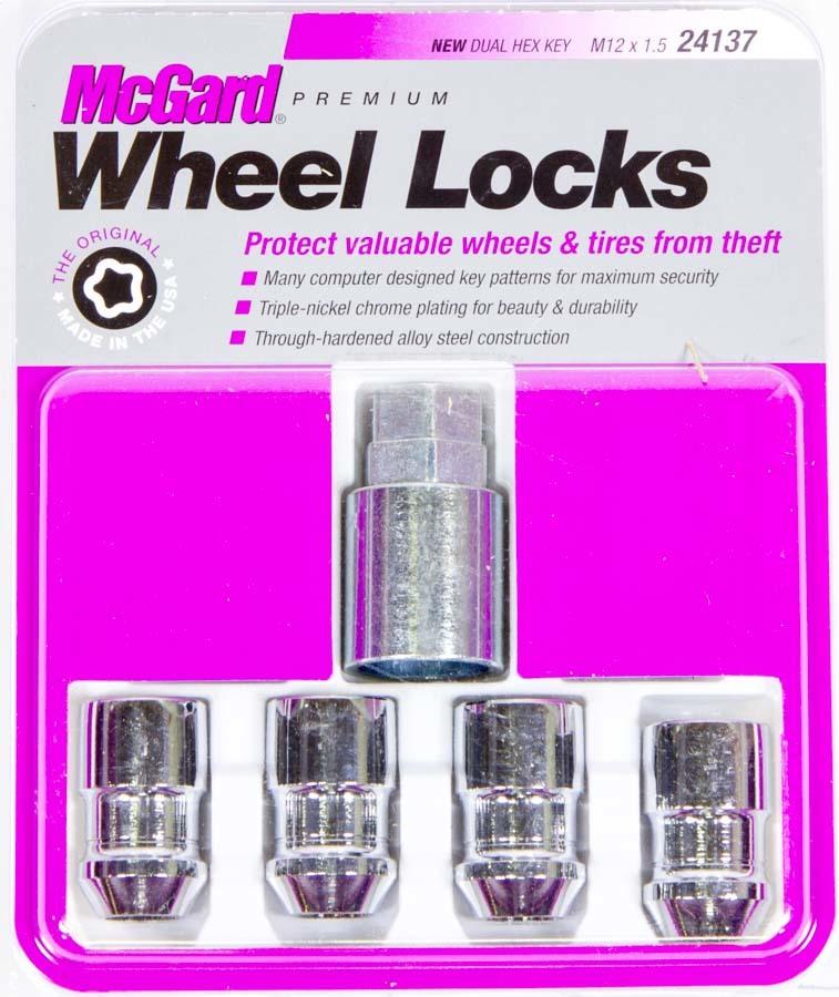 Mcgard WHEEL LOCK 12MM x 1.50 CONICAL SEAT (4)