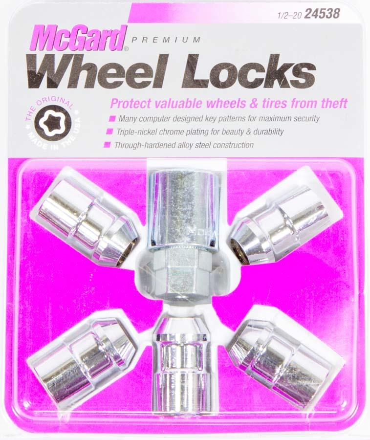 Mcgard WHEEL LOCK 1/2 CONICAL SEAT WRANGLER W/SPARE
